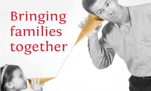Bringing families together