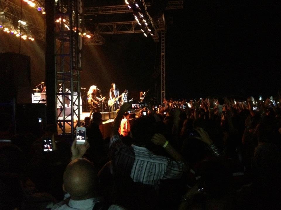 bonjus at slash concert