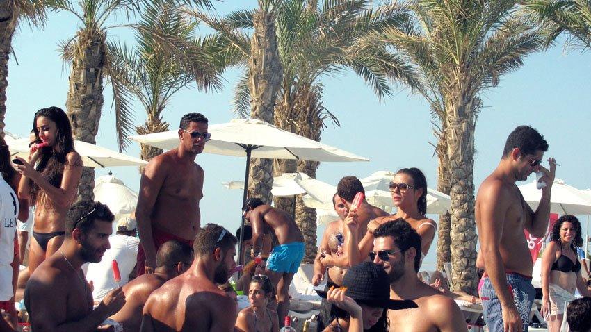 Bonjus at the beach