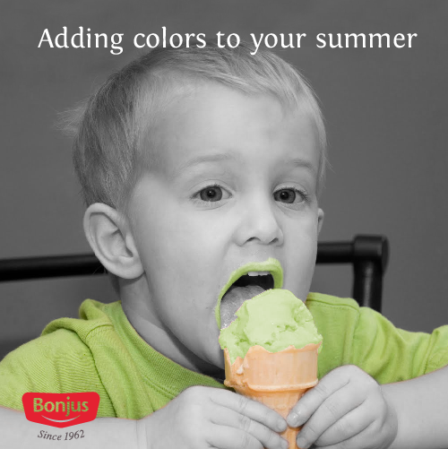 adding colours to your summer